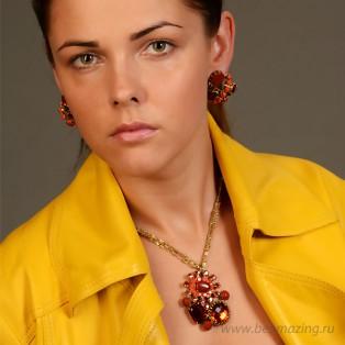 Элитная бижутерия BeAmazing.ru: Колье Rodrigo Otazu - 114368 - фото 2
