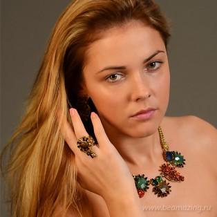 Элитная бижутерия BeAmazing.ru: Кольцо Rodrigo Otazu - 164367 - фото 2
