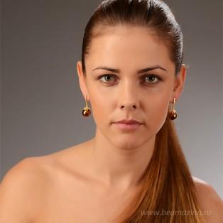 Элитная бижутерия BeAmazing.ru: Серьги Bijou Tresor - У5С200560   - фото 3