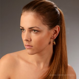 Элитная бижутерия BeAmazing.ru: Серьги Bijou Tresor - У5С200560   - фото 2