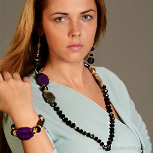 Элитная бижутерия BeAmazing.ru: Серьги Bijou Tresor - У5С400123 - фото 3