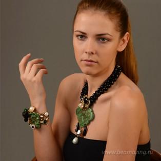 Элитная бижутерия BeAmazing.ru: Браслет-дракон Philippe Ferrandis - AS40 - фото 5