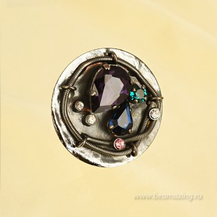 Элитная бижутерия BeAmazing.ru: Кольцо Ameli - R2556 - фото 2