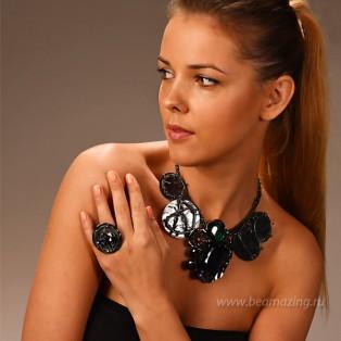 Элитная бижутерия BeAmazing.ru: Кольцо Ameli - R2556 - фото 4