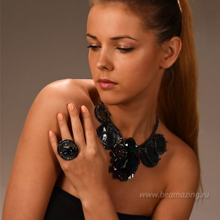 Элитная бижутерия BeAmazing.ru: Кольцо Ameli - R2556 - фото 5