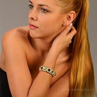 Элитная бижутерия BeAmazing.ru: Браслет Bijou Tresor - У5Б200194 - фото 5