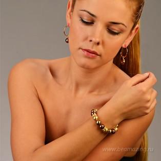 Элитная бижутерия BeAmazing.ru: Браслет Bijou Tresor -У5Б200604  - фото 4