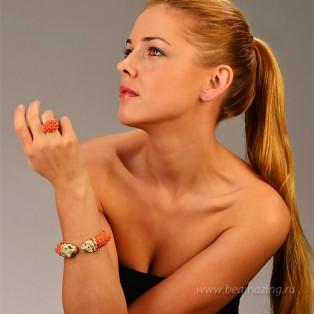 Элитная бижутерия BeAmazing.ru: Кольцо Bijou Tresor - У5К100221К - фото 4