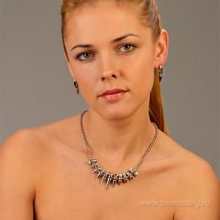 Элитная бижутерия BeAmazing.ru: Колье Bijou Tresor - У5Л100184 - фото 4