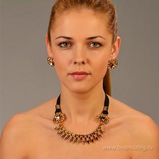 Элитная бижутерия BeAmazing.ru: Колье Bijou Tresor - У5Л200207 - фото 4