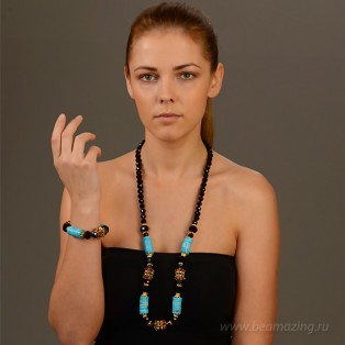 Элитная бижутерия BeAmazing.ru: Колье Bijou Tresor - У5Л400823 - фото 3