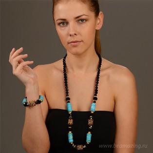 Элитная бижутерия BeAmazing.ru: Колье Bijou Tresor - У5Л400823 - фото 2