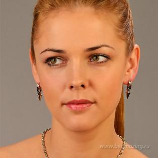 Элитная бижутерия BeAmazing.ru: Серьги Bijou Tresor - У5С100210 - фото 4