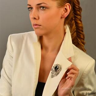 Элитная бижутерия BeAmazing.ru: Брошь Bijou Tresor - У5Ш200484с - фото 4