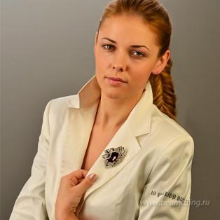 Элитная бижутерия BeAmazing.ru: Брошь Bijou Tresor - У5Ш200485ф - фото 5