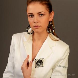 Элитная бижутерия BeAmazing.ru: Брошь Bijou Tresor - У5Ш200707 - фото 3