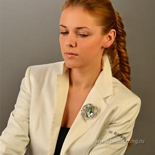 Элитная бижутерия BeAmazing.ru: Брошь Bijou Tresor - У5Ш200727 - фото 5