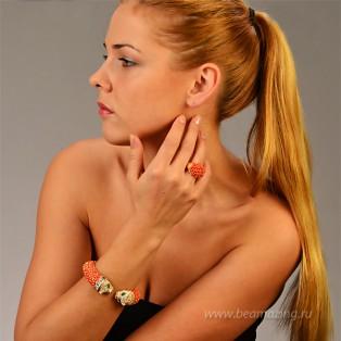 Элитная бижутерия BeAmazing.ru: Кольцо Bijou Tresor - У5К100221К - фото 5