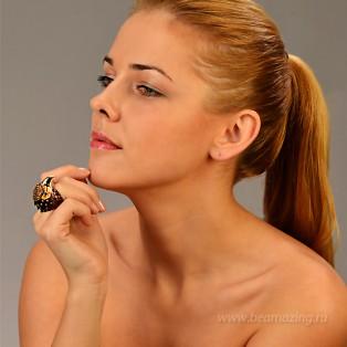 Элитная бижутерия BeAmazing.ru: Кольцо Bijou Tresor - У5К200223  - фото 4