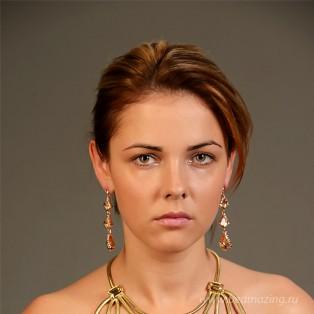 Элитная бижутерия BeAmazing.ru: Серьги Bijou Tresor-У5С201107   - фото 2