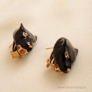 Элитная бижутерия BeAmazing.ru: Серьги-пантеры CREART II - У18С100003Э - фото 3