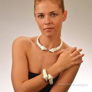 Элитная бижутерия BeAmazing.ru: Колье CREART II - CL10001  - фото 4