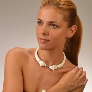 Элитная бижутерия BeAmazing.ru: Колье CREART II - CL10001  - фото 5