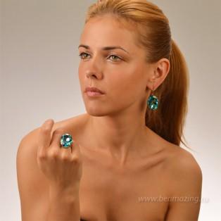 Элитная бижутерия BeAmazing.ru: Кольцо Nikolas Frangos - D001 - фото 3