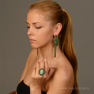 Элитная бижутерия BeAmazing.ru: Кольцо Nikolas Frangos - D030 - фото 5