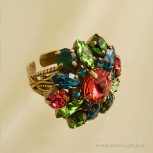 Элитная бижутерия BeAmazing.ru: Кольцо Nikolas Frangos - D049 - фото 3