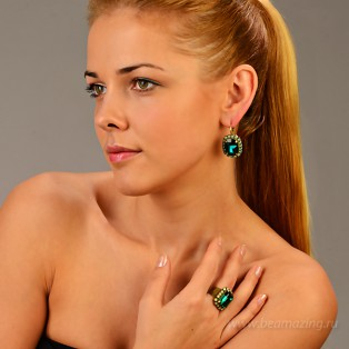Элитная бижутерия BeAmazing.ru: Кольцо Nikolas Frangos - D104 - фото 4