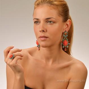 Элитная бижутерия BeAmazing.ru: Кольцо Nikolas Frangos - D104N - фото 4