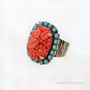 Элитная бижутерия BeAmazing.ru: Кольцо Nikolas Frangos - D104N