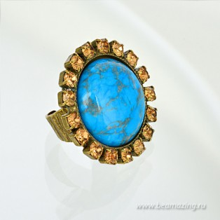 Элитная бижутерия BeAmazing.ru: Кольцо Nikolas Frangos - D1245 - фото 2