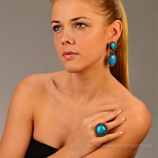 Элитная бижутерия BeAmazing.ru: Кольцо Nikolas Frangos - D1245 - фото 3
