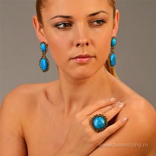 Элитная бижутерия BeAmazing.ru: Кольцо Nikolas Frangos - D1245 - фото 4
