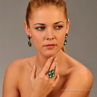 Элитная бижутерия BeAmazing.ru: Кольцо Nikolas Frangos - D1348 - фото 3