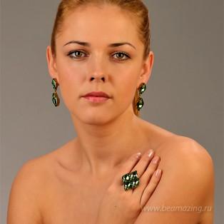 Элитная бижутерия BeAmazing.ru: Кольцо Nikolas Frangos - D1348 - фото 5