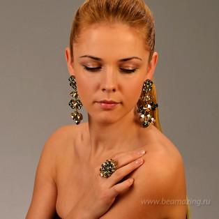 Элитная бижутерия BeAmazing.ru: Кольцо Nikolas Frangos - D1352 - фото 5