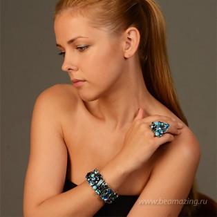 Элитная бижутерия BeAmazing.ru: Кольцо Nikolas Frangos - D712 - фото 5