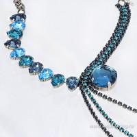 Завораживающая бижутерия с кристаллами Сваровски