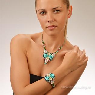 Элитная бижутерия BeAmazing.ru: Колье Nikolas Frangos - K1155 - фото 5