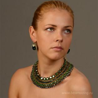 Элитная бижутерия BeAmazing.ru: Колье Nikolas Frangos - K772 - фото 4