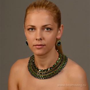 Элитная бижутерия BeAmazing.ru: Колье Nikolas Frangos - K772 - фото 3