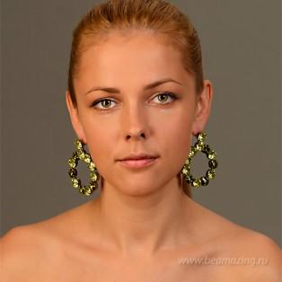 Элитная бижутерия BeAmazing.ru: Серьги Nikolas Frangos - S100 - фото 5