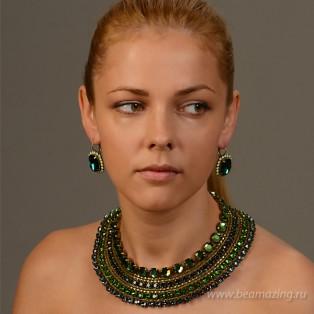 Элитная бижутерия BeAmazing.ru: Серьги Nikolas Frangos - S104 - фото 3