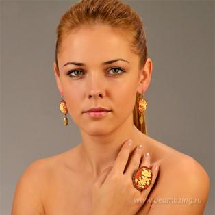 Элитная бижутерия BeAmazing.ru: Серьги Nikolas Frangos - S1177 - фото 3