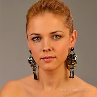 Элитная бижутерия BeAmazing.ru: Серьги Nikolas Frangos - S1260 - фото 3