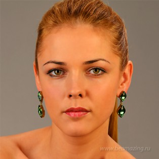 Элитная бижутерия BeAmazing.ru: Серьги Nikolas Frangos - S1278 - фото 4
