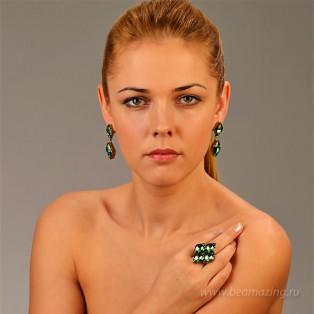 Элитная бижутерия BeAmazing.ru: Серьги Nikolas Frangos - S1278 - фото 6